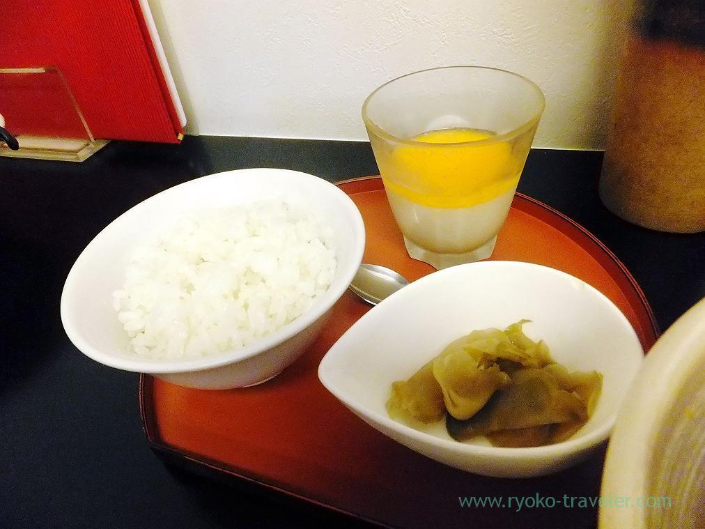 Rice set, Chengdu-style dandan noodle (Minoridai)