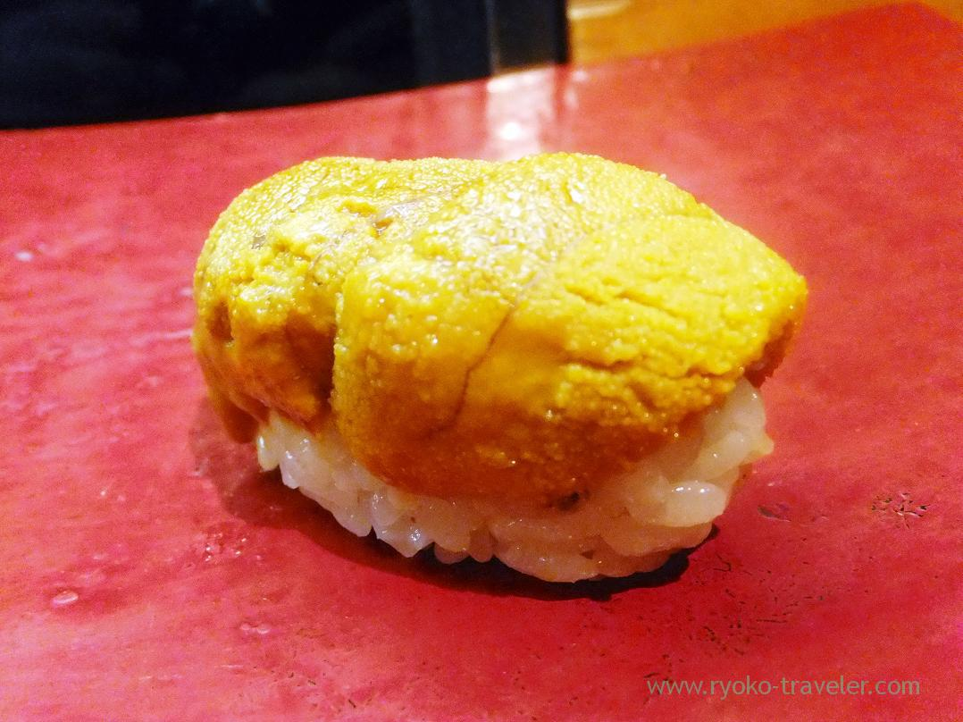 Sea urchin, Miyakozushi (Bakuro-Yokoyama)