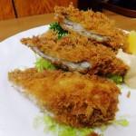 Tsukiji Market : Deep fried conger eel at Odayasu (小田保)