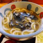 Kamagaya-Daibutsu : Shijimi udon at Otafuku (お多福)