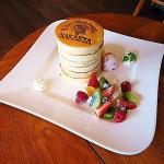Kamihongo : Castella shop's pancake (カフェドゥスヴェニール)