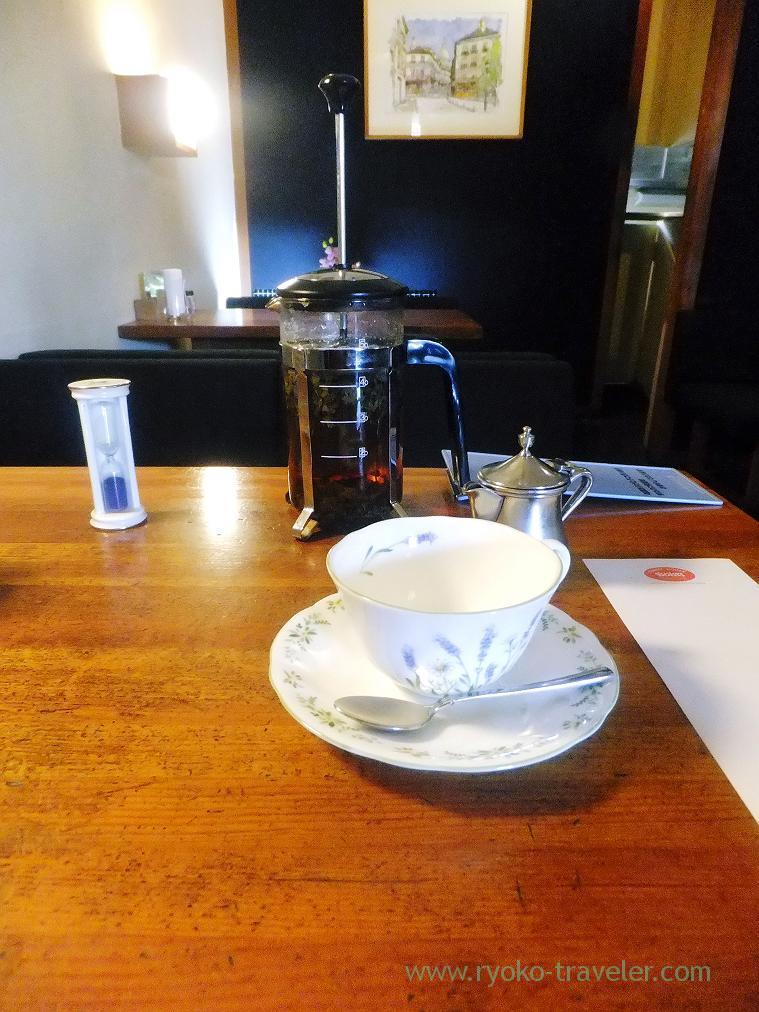 Tea after the meal, Bolt's Keisei-Okubo branch (Keisei-Okubo)