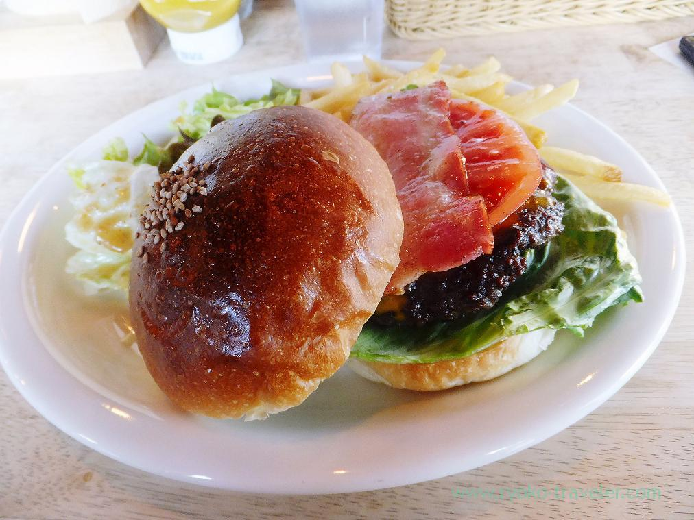 Boston burger, Share's (Kachidoki)