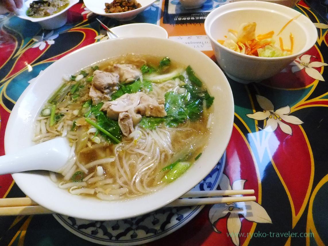 Chicken noodle, Ayutthaya (Funabashi)