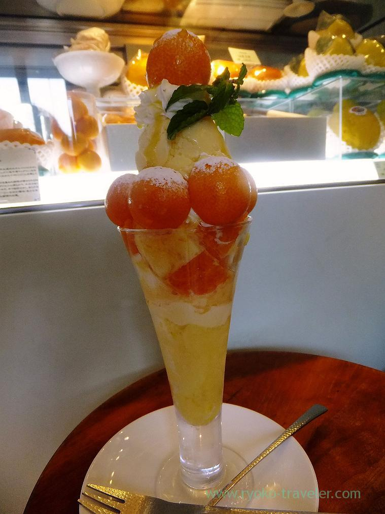 Citrus parfait, Fruits cafe Frutas (Monzen-nakacho)