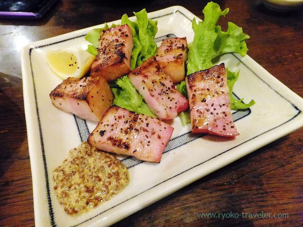 Ham steak, Hyottoko (Ningyocho)