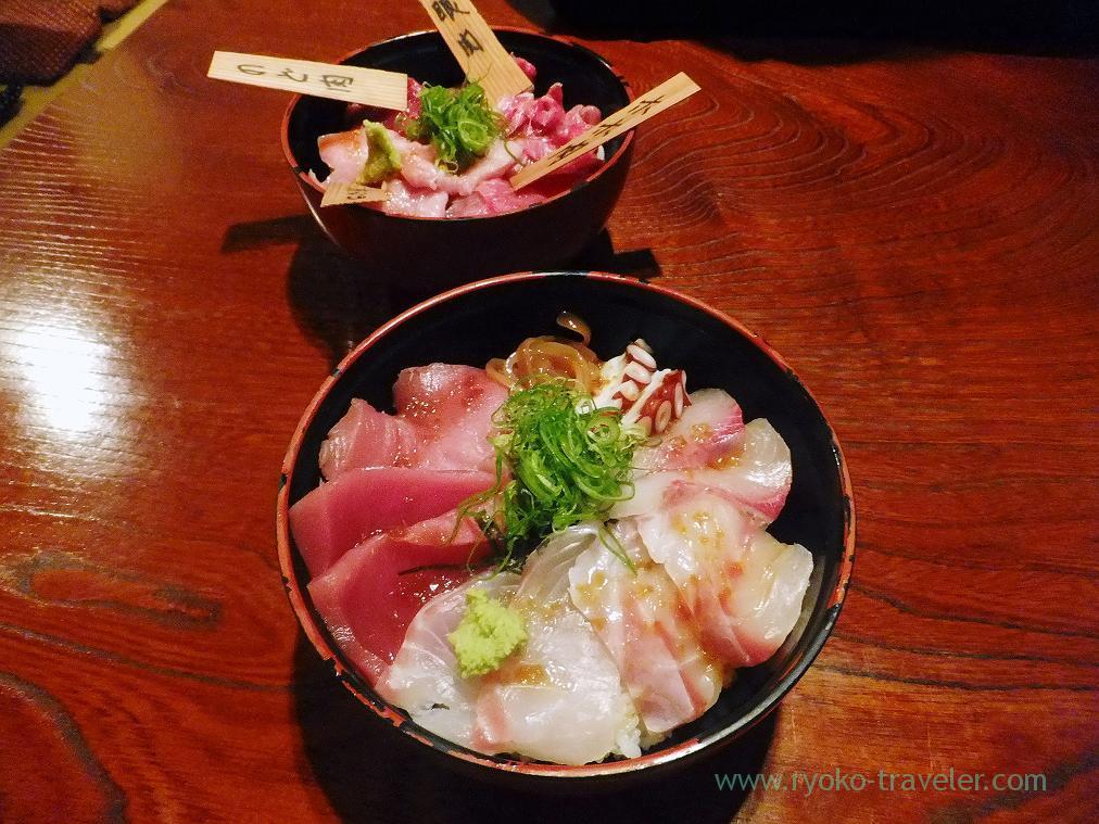 Our bowls, Maguro-ichi (Funabashi)