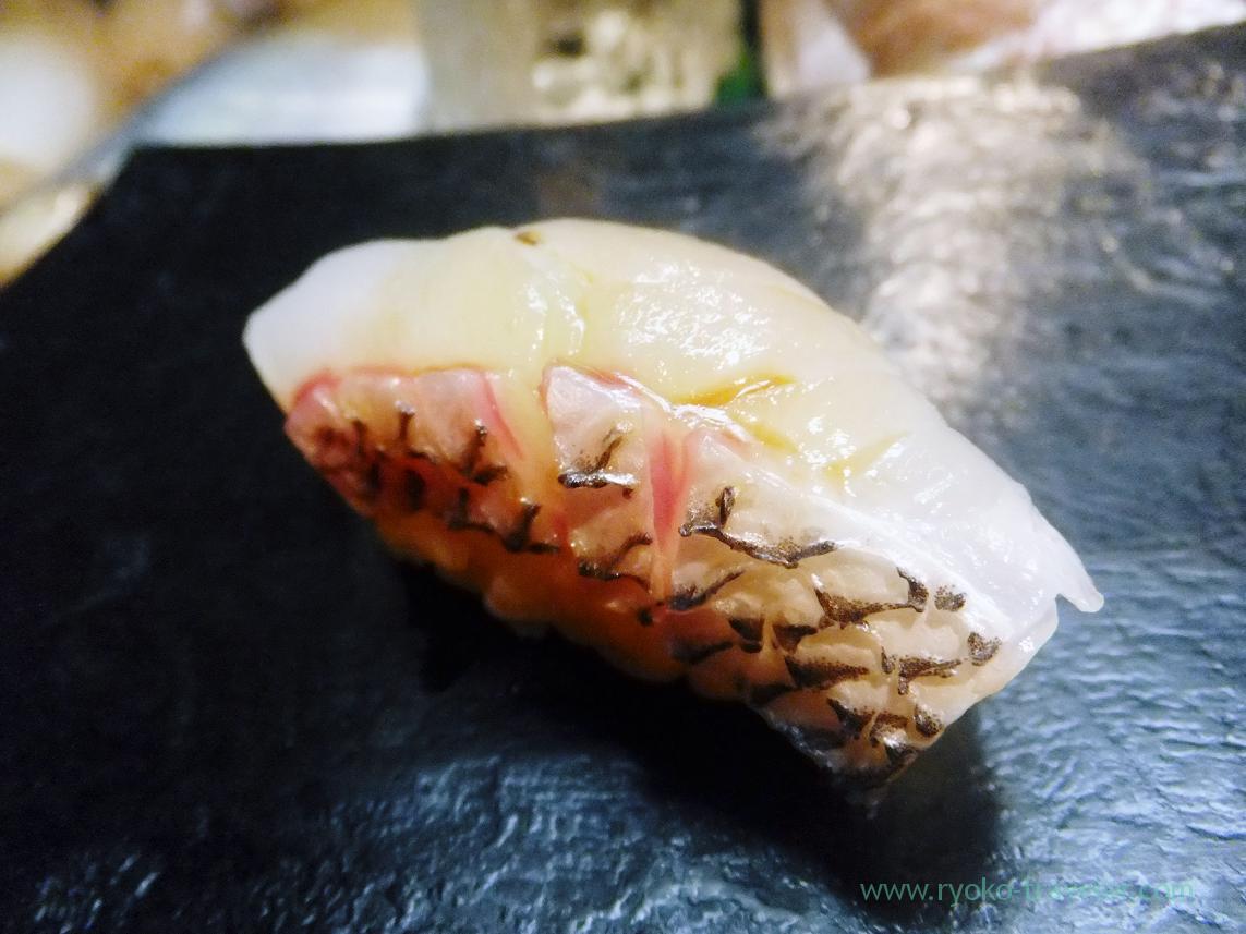 Red sea bream or madai, Miyakozushi (Bakuro-Yokoyama)