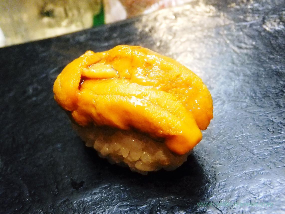 Sea urchin or uni, Miyakozushi (Bakuro-Yokoyama)