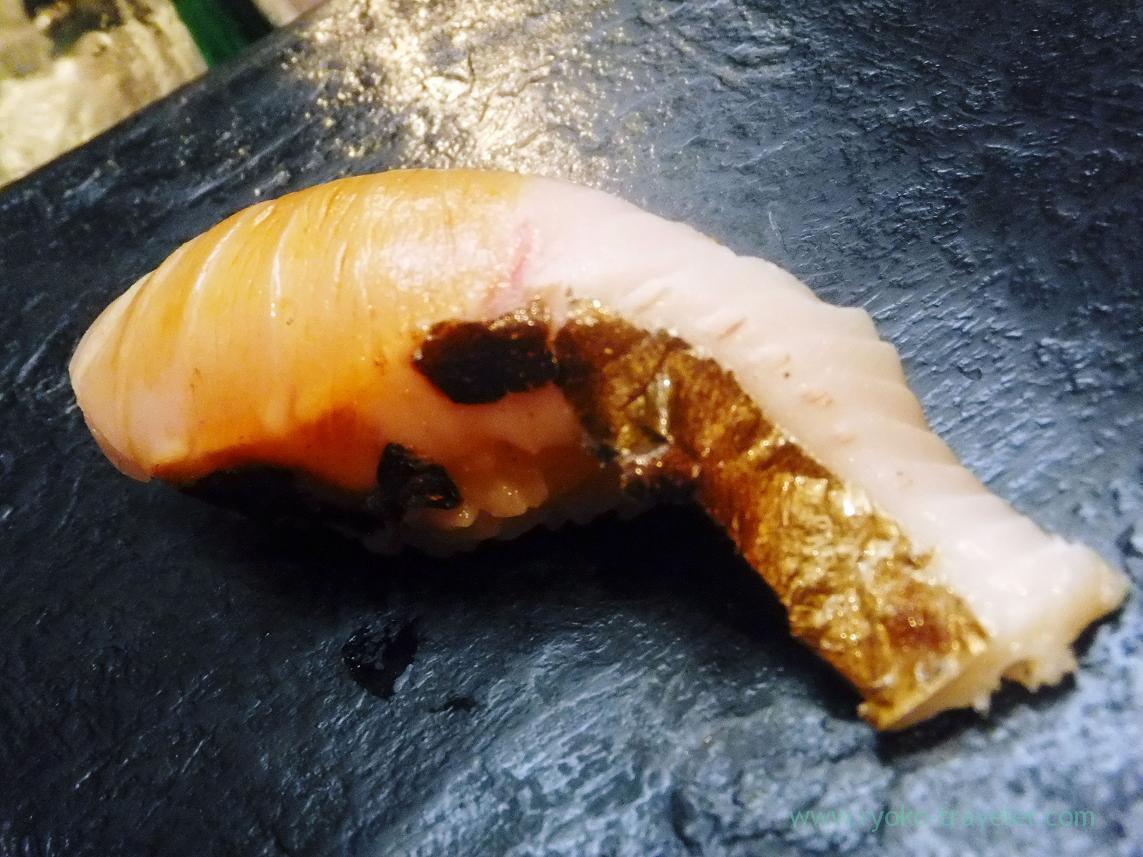 Spanish mackerel or sawara, Miyakozushi (Bakuro-Yokoyama)