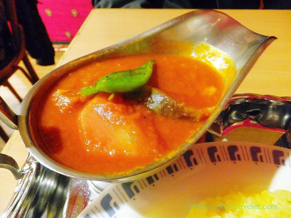 Vegetable curry, Curry restaurant Shiba (Inage)