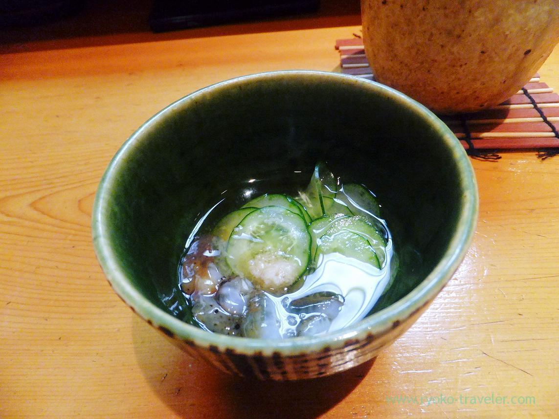 Vinegared sea cucumber, Miyakozushi (Bakuro-Yokoyama)