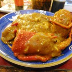 Tsukiji Market : Spiny lobster curry at Yonehana (米花)