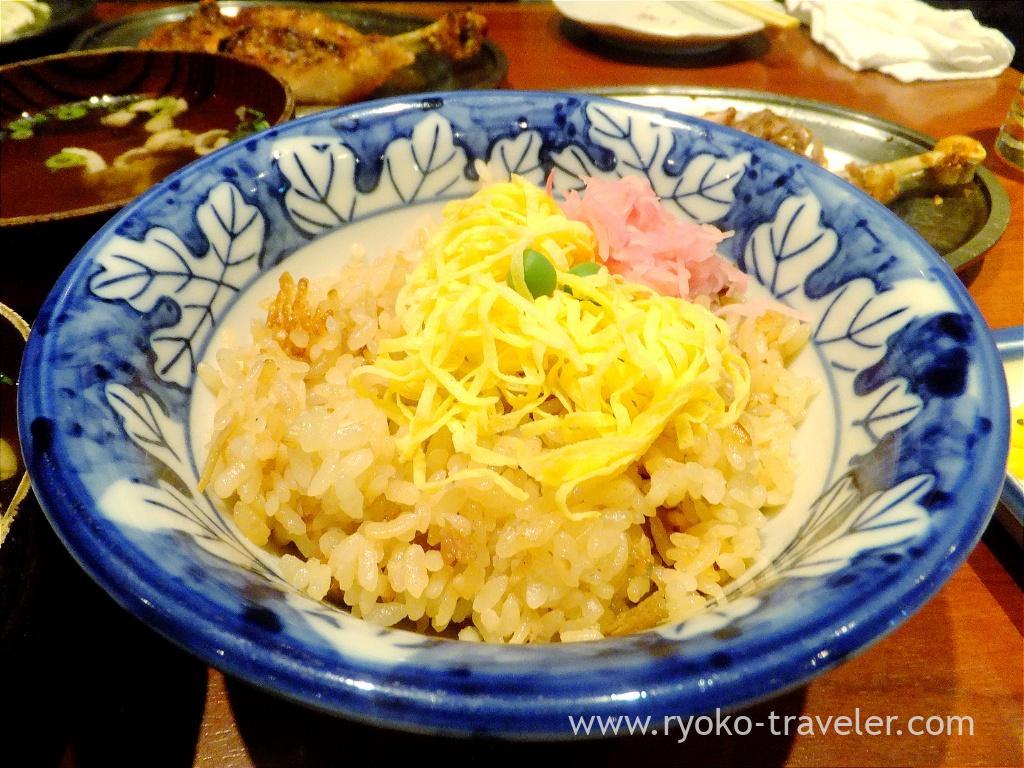 Chicken rice, Ikkaku (Yokohama)