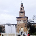 Italy 2015 (3/14) : Castello Sforzesco and lunch in Milan