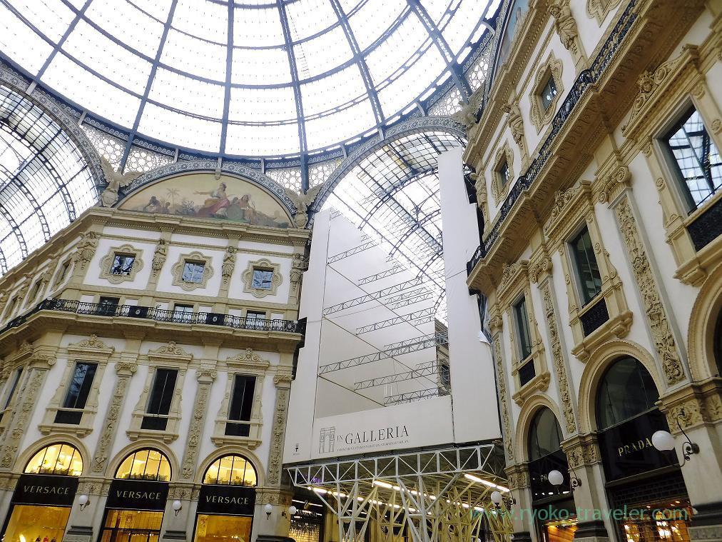 Gorgeous, Galleria vittorio Emanuele 2, Milano (Trip to italy 2015)