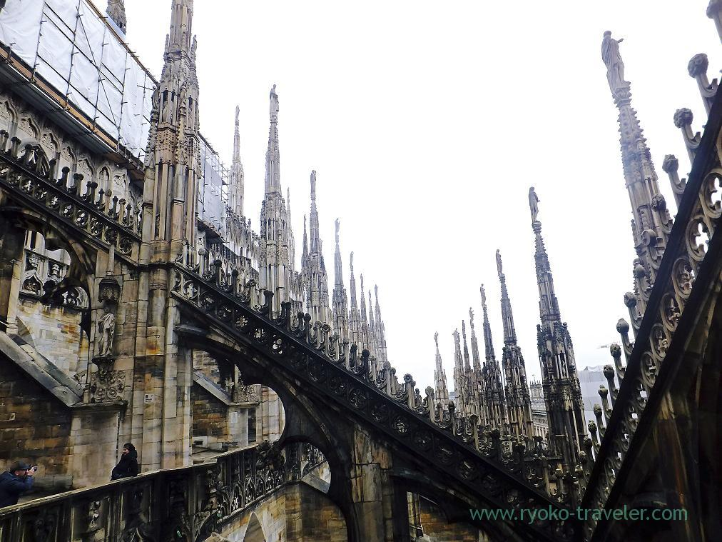 Great architecture, Duomo, Milano (Trip to italy 2015)