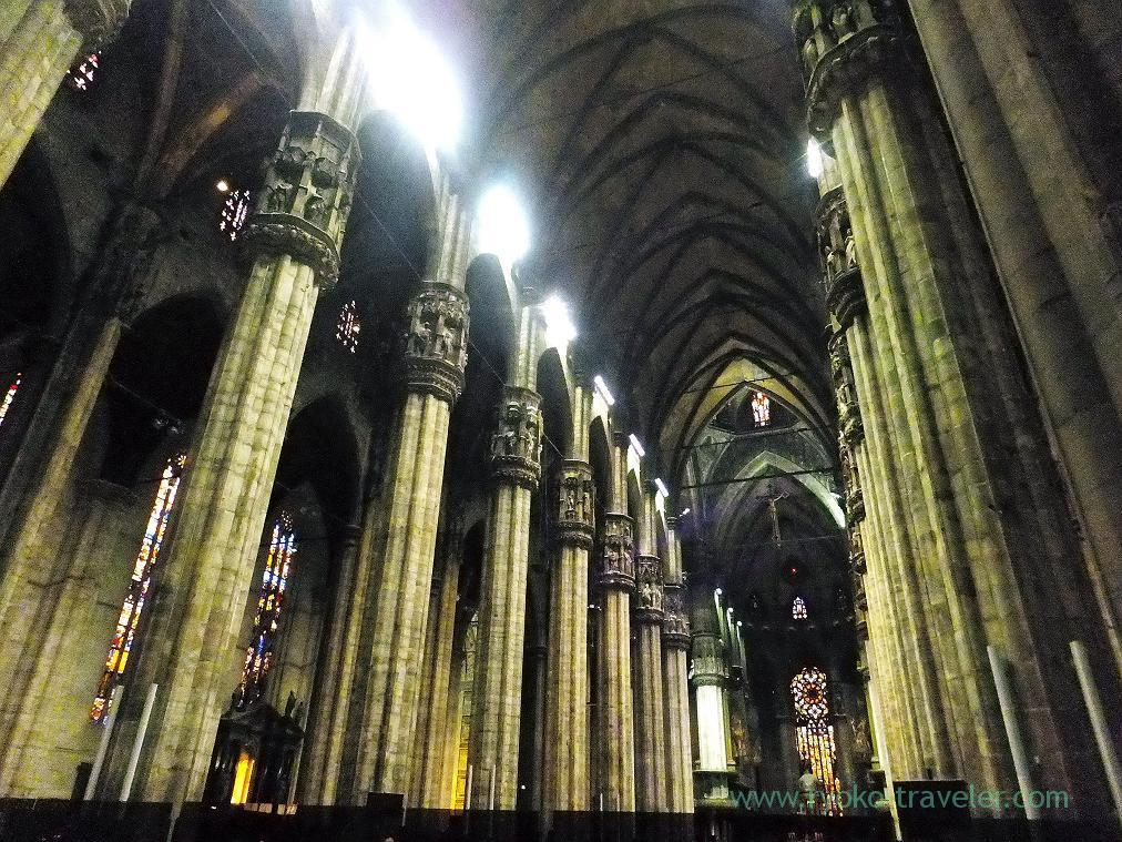 Inside, Duomo, Milano (Trip to italy 2015)
