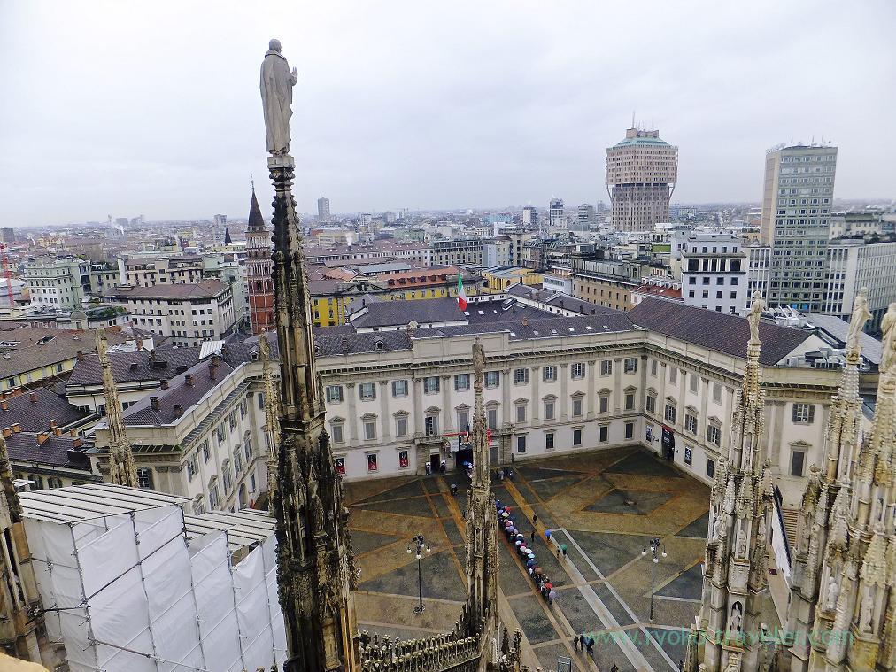 Nice view, Duomo, Milano (Trip to italy 2015)