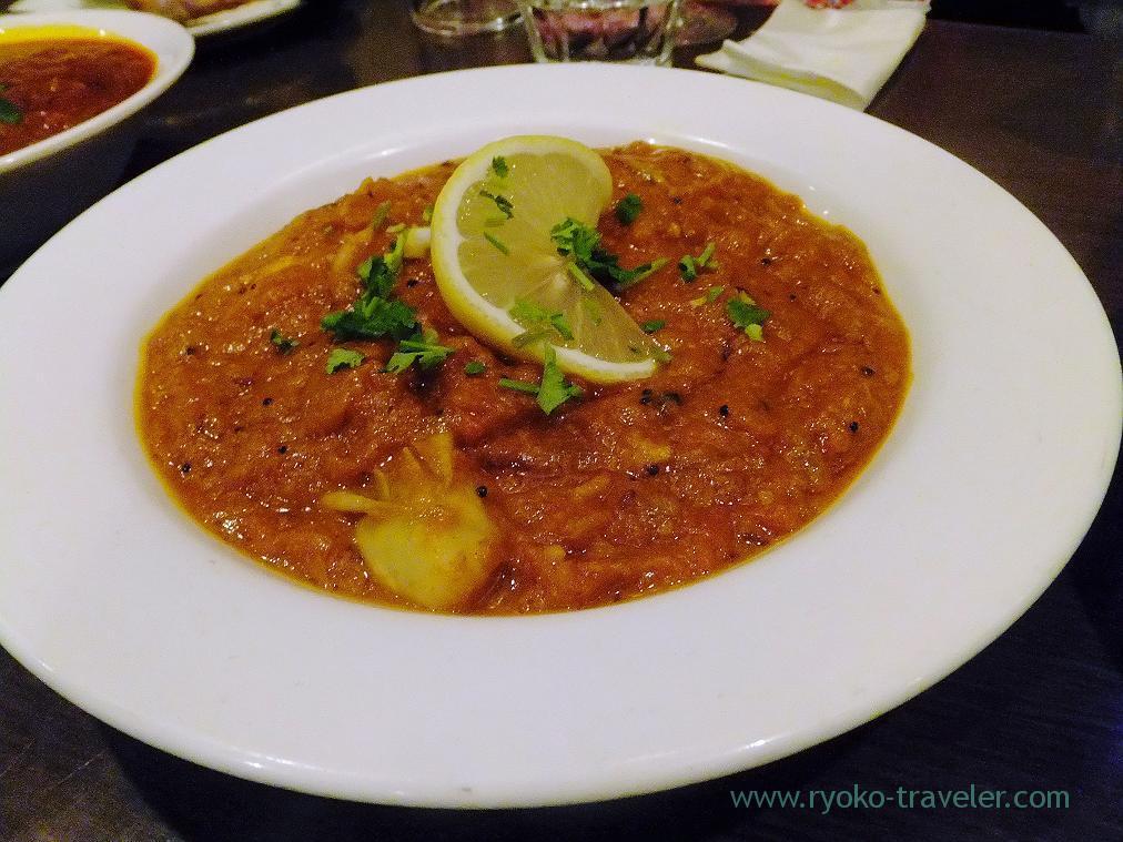 Oyster curry, Anjuna (Takahata-fudo)