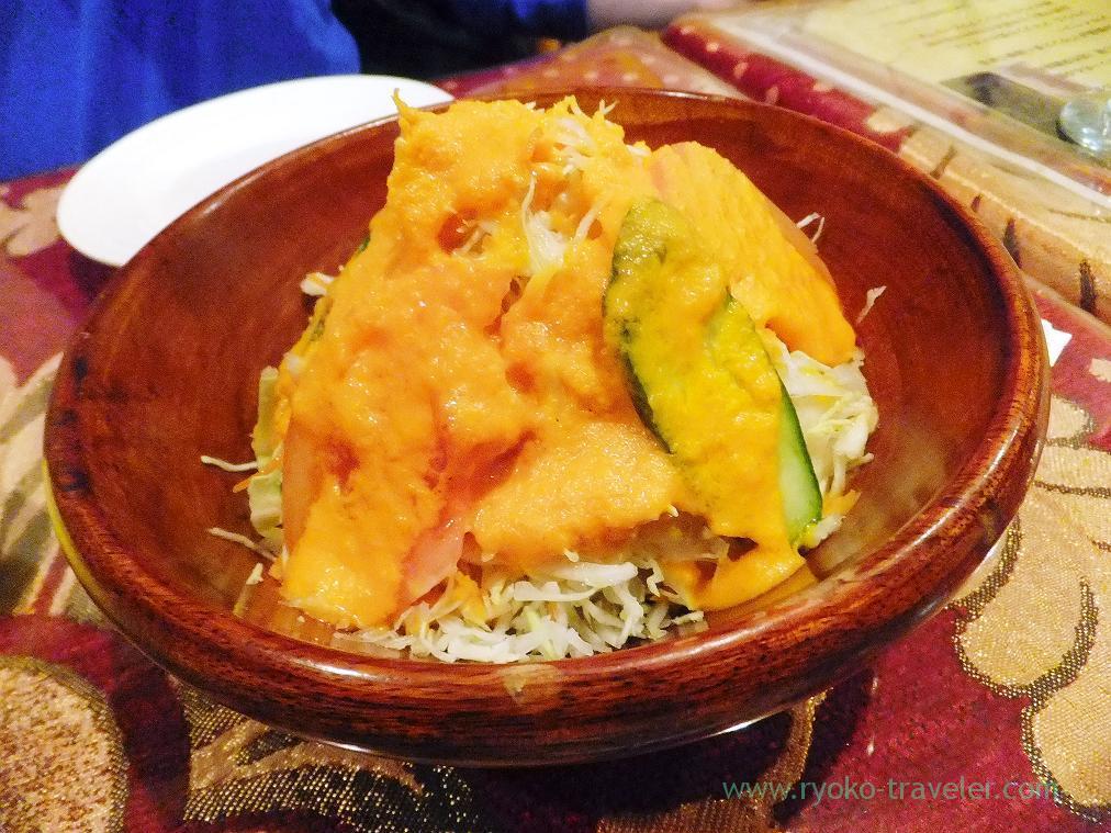 Salad, Gandhi (Funabashi)