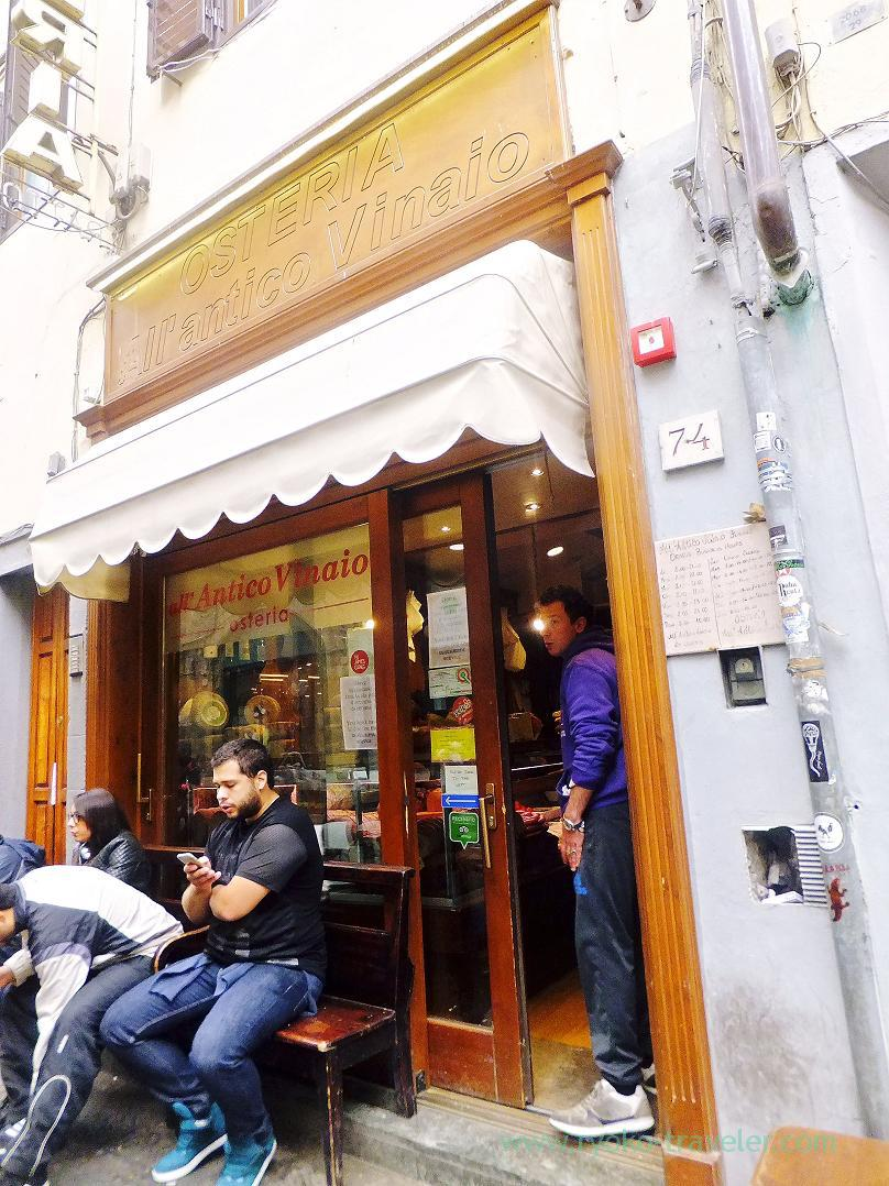 Appearance, Osteria All Antico Vinaio, Firenze (Trip to Italy 2015)