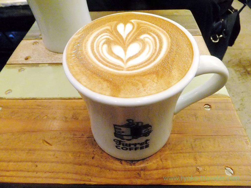 Cafe Latte, Turret Coffee (Tsukiji)