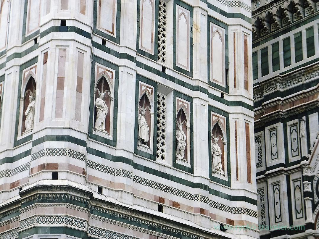 Carving, Giotto's Campanile, Firenze (Trip to Italy 2015)