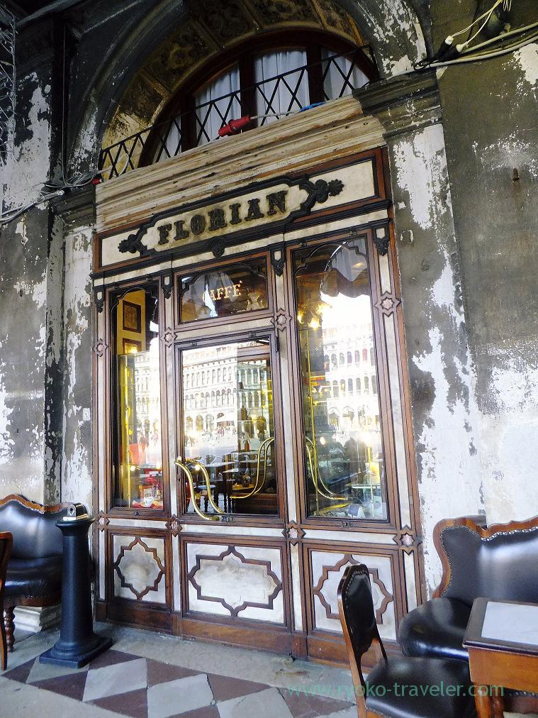 Entrance,Cafe florian Venice (Trip to italy 2015)