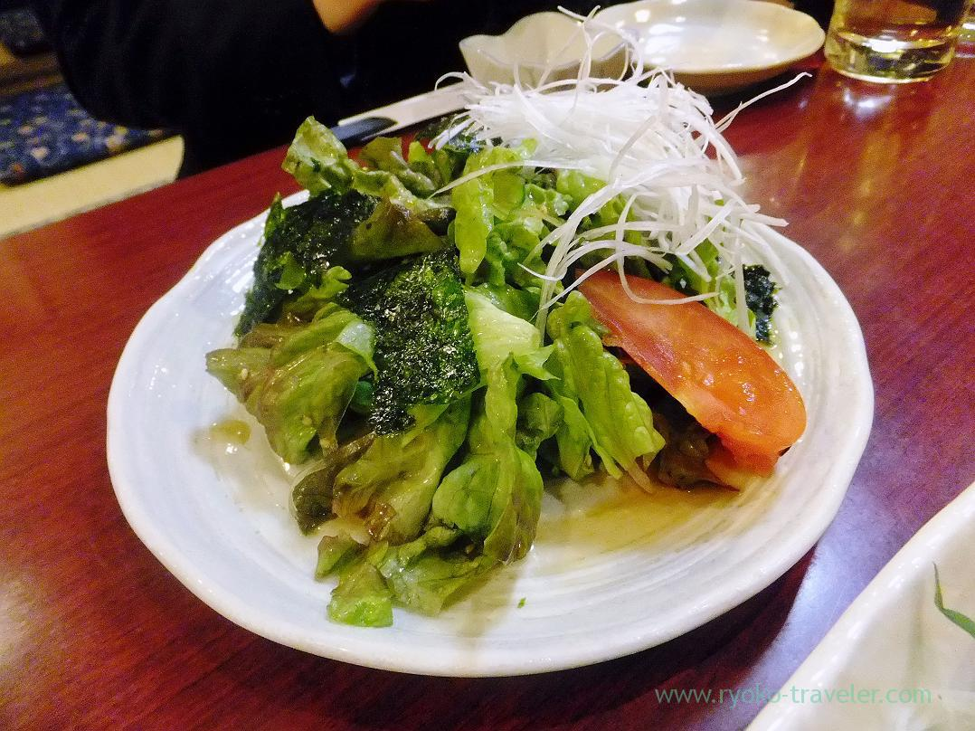 Korean-style salad, Kagaya Funabashi Branch (Funabashi)