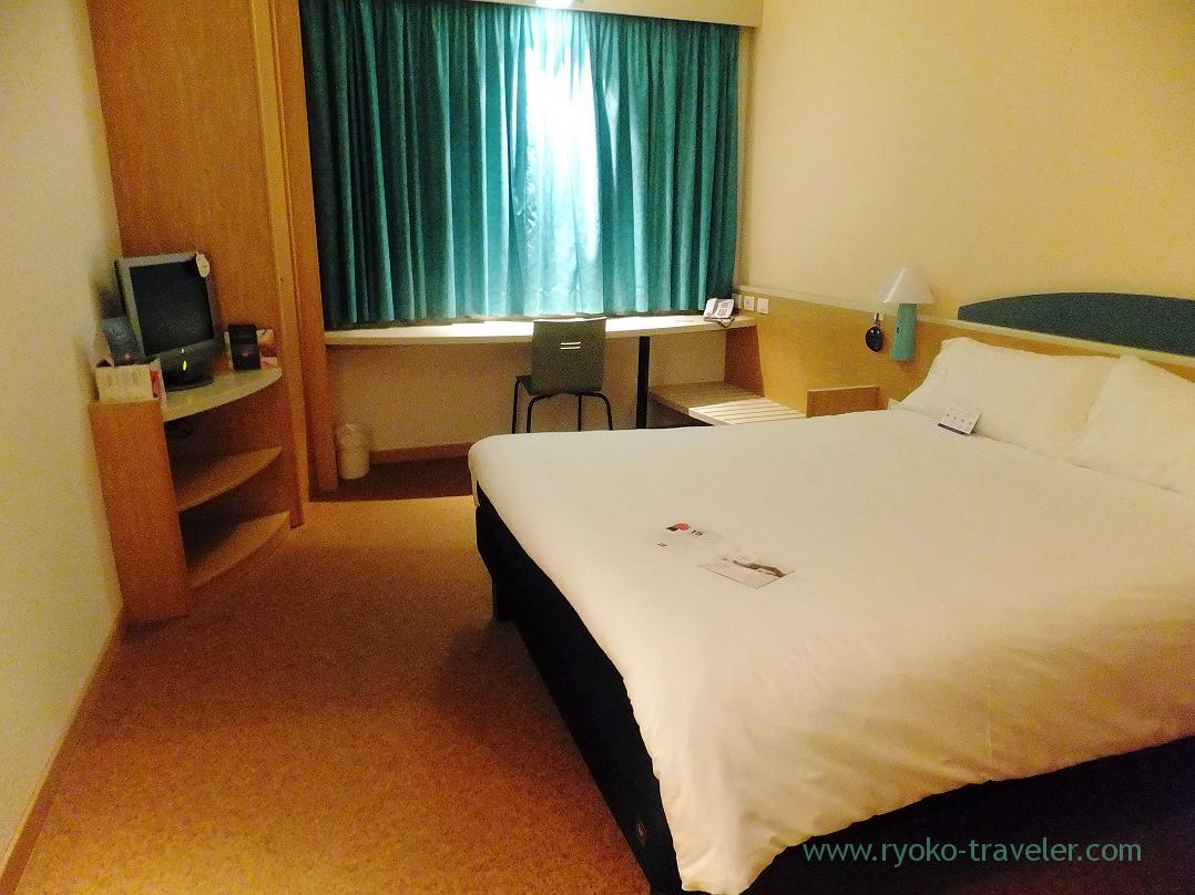 My room, Ibis Roma Fiera, Firenze (Trip to Italy 2015)