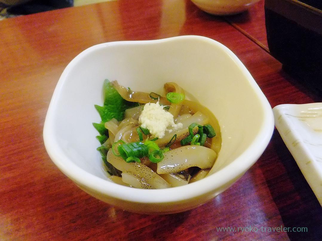 Okizuke squid, Kagaya Funabashi branch (Funabashi)