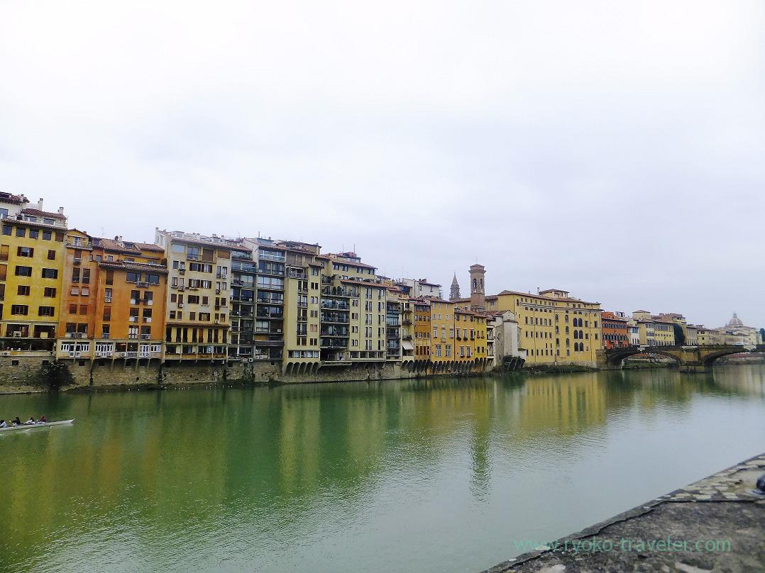 View from this side, Ponte Vecchio, Firenze (Trip to Italy 2015)