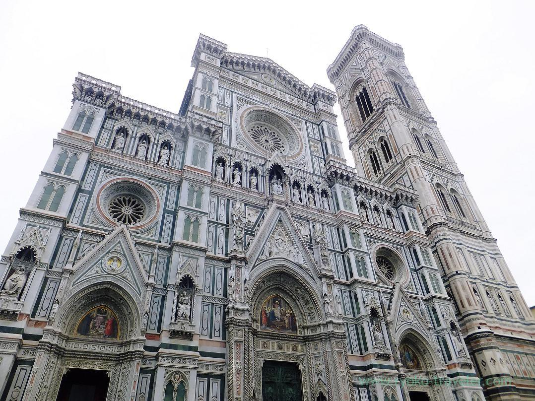 Whole view, Giotto's Campanile, Firenze (Trip to Italy 2015)