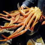 Tsukiji : Crab party at Fujimura (ふじむら)