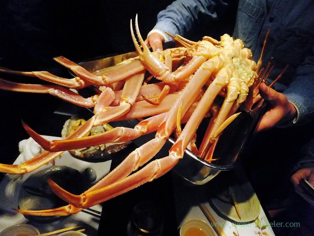 female crab for hotpot, Fujimura (Tsukiji)