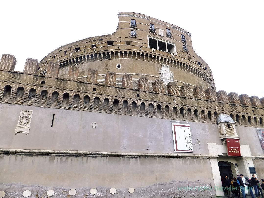 Appearance, Castel Sant'Angelo, Rome (Trip to Italy 2015)