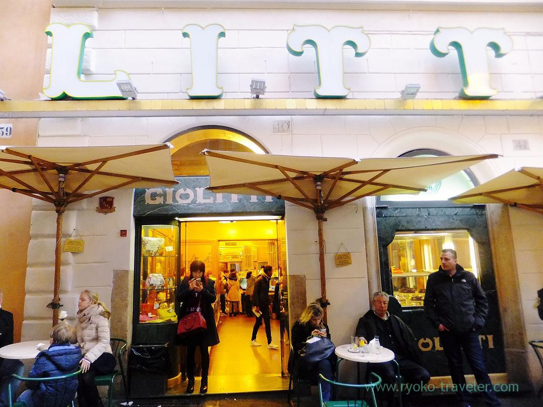 Appearance, Giolitti, Rome (Trip to Italy 2015)