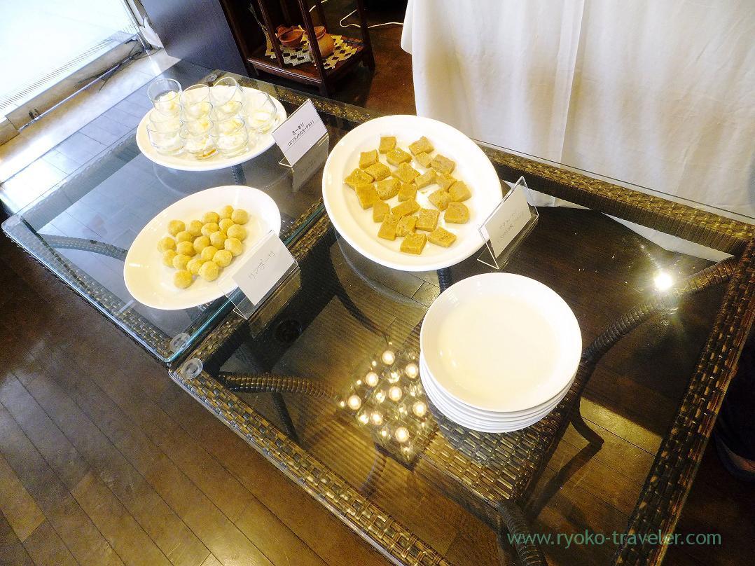 Dessert area, Ayurveda Kitchen Didean (Kamata)