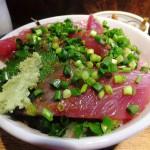 Tsukiji : First bonito at Hajime Sengyo-ten