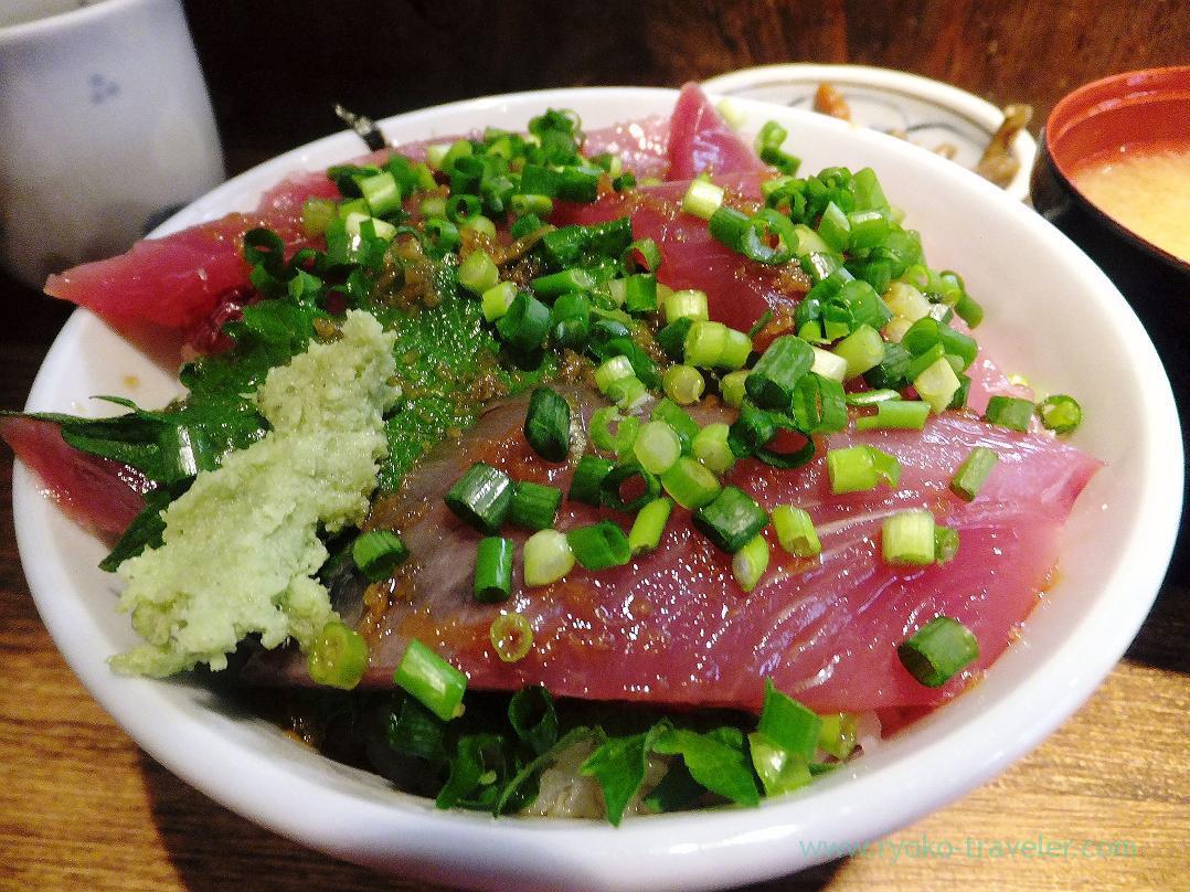 First bonito bowl, Hajime Sengyo-ten (Tsukiji)