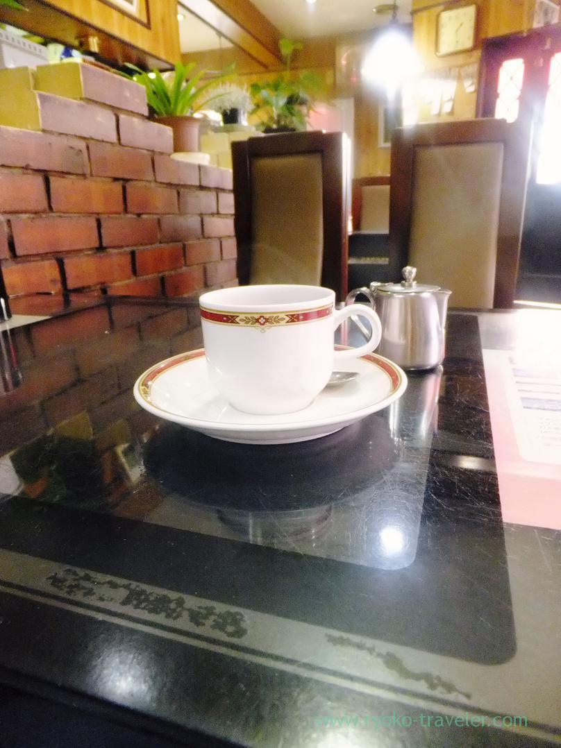 Hot coffee, Coffee-kan printemps, Nakatsu (Trip to Osaka 201504)