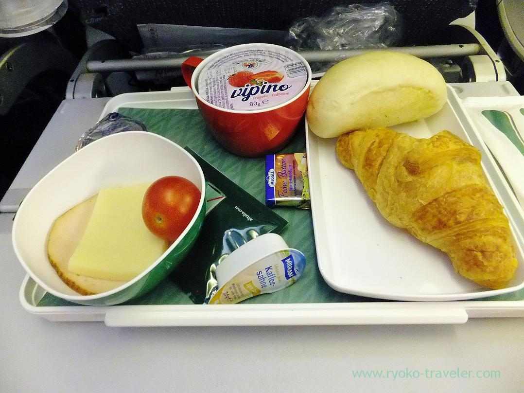 In-flight meals, To Tokyo, Rome (Trip to Italy 2015)