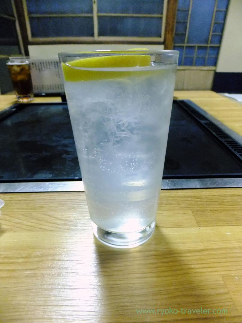 Lemon sour, Matsunami (Ningyocho)