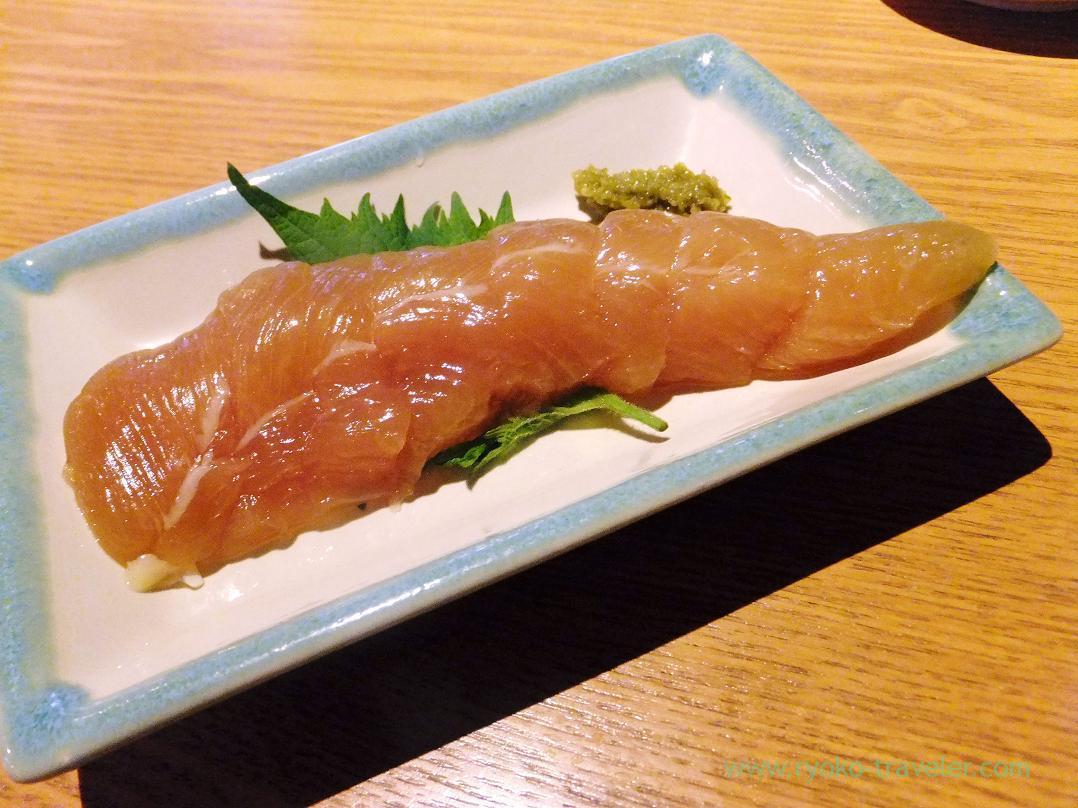 Marinated Jiyou chicken's white meat with miso, Gracia (Asakusabashi)