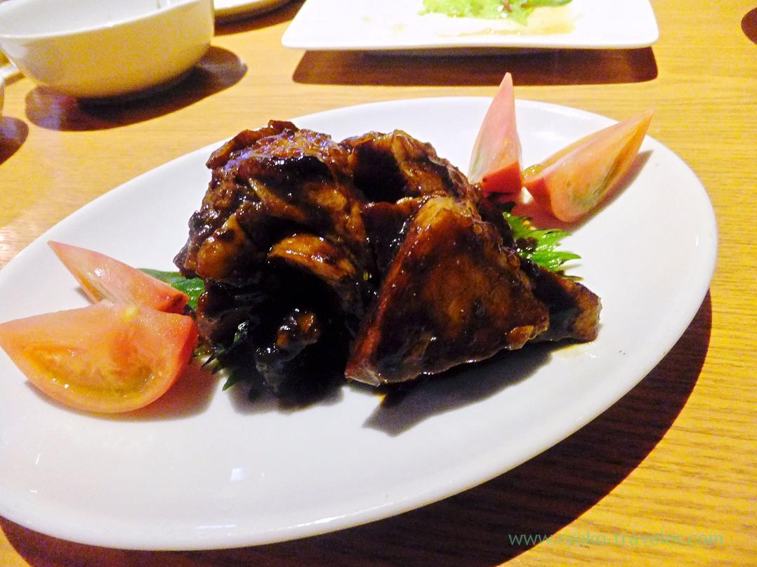 Marinated chuck flap with Haccho miso, Gracia (Asakusabashi)