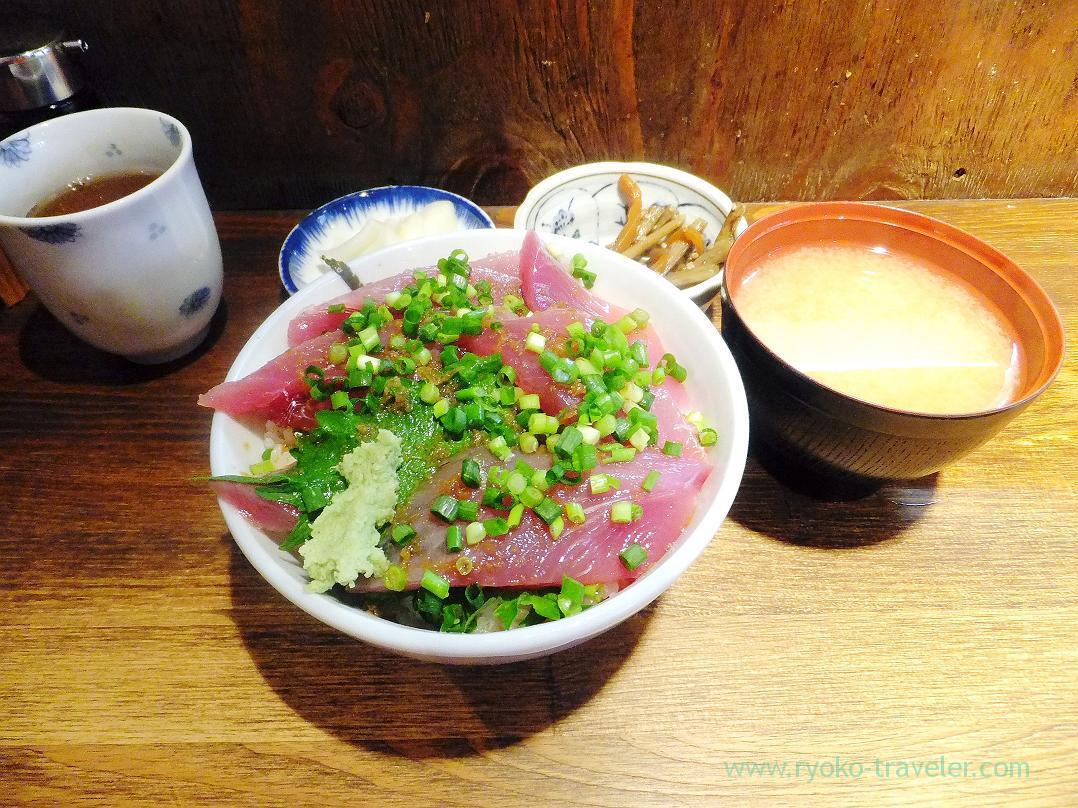 My lunch, Hajime Sengyo-ten (Tsukiji)