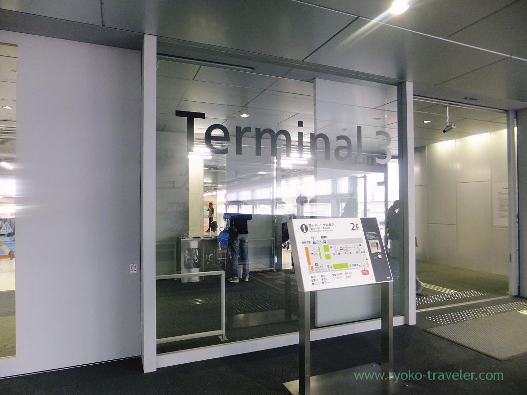 Narita airport Terminal 3, Narita (Trip to Osaka 201504)