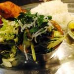Takahata-fudo : Indian dinner set at Anjuna