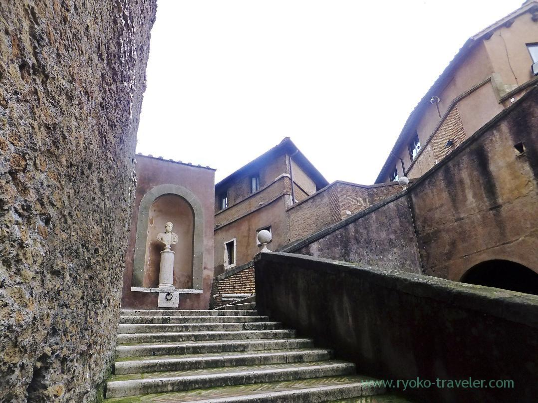 Stairs, Castel Sant'Angelo, Rome (Trip to Italy 2015)